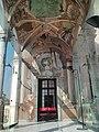 Affreschi della Loggia delle Rovine (Paolo Girolamo Piola) - mito del tempio di Diana - prospettive di Nicolò Viviano - Palazzo Rosso - Genoa - panoramio (36).jpg