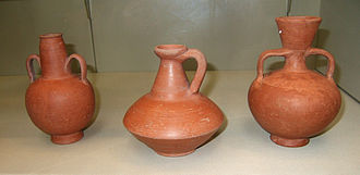 African red slip ware - African Red Slip flagons and vases, 2nd-4th century AD