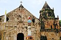 Aguila Diosa Marie - Miagao Church 03.jpg