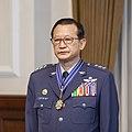 Air Force (ROCAF) General Wu Wan-jiao 空軍上將吳萬教 (04.01 總統主持「國軍重要高階幹部授勳暨晉任布達授階典禮」 - Flickr id 47512229831).jpg