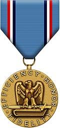 Air Force Good Conduct Medal black bg