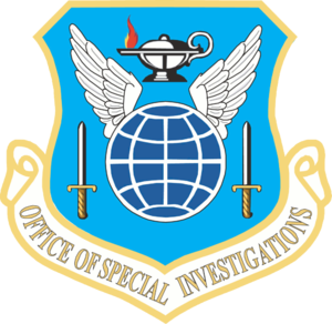Emblem of Air Force Office of Special Investig...