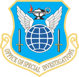 United States Air Force Office of Special Investigations US federal law enforcement agency that reports directly to the Secretary of the Air Force