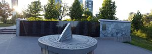 Air India Flight 182 - Air India 182 memorial, Toronto