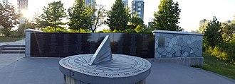 Air India Flight 182 - Air India 182 memorial, Toronto