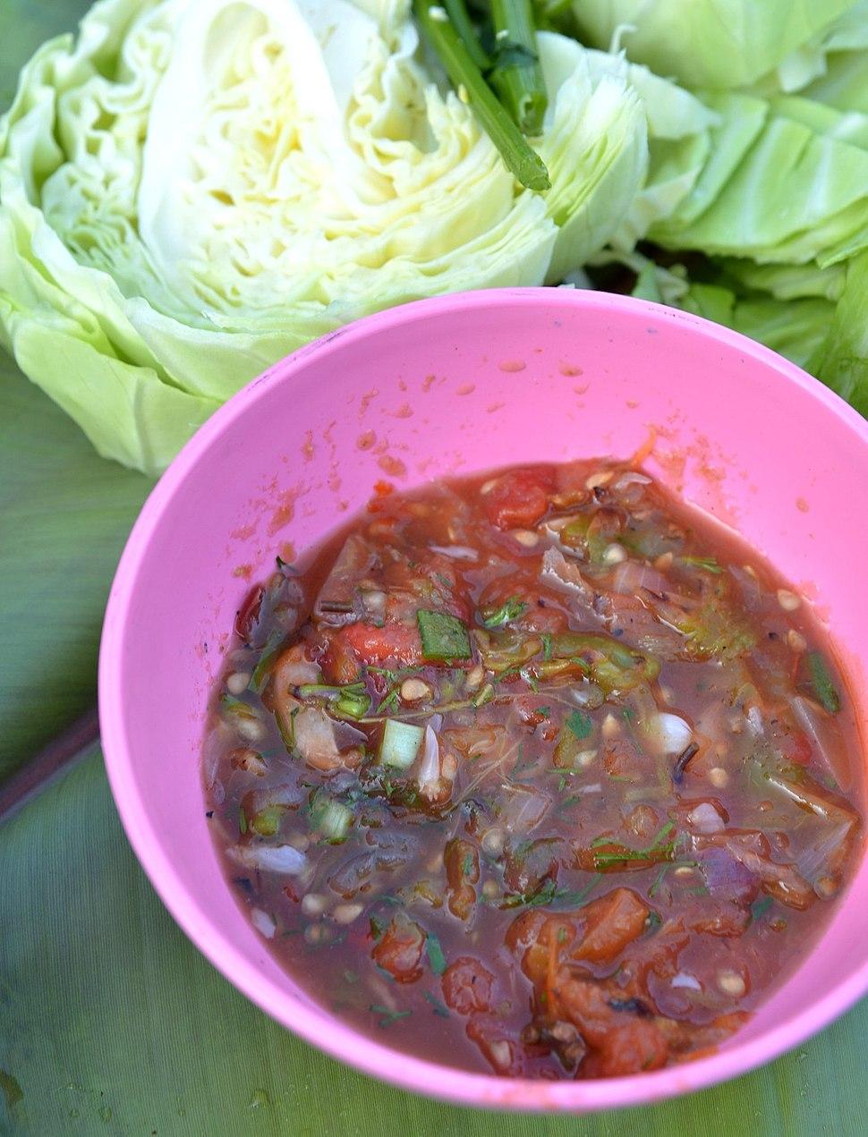 Akha cuisine Sapi thong-uh