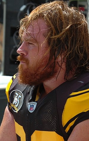 Alan Faneca - Faneca with the Steelers in 2007.