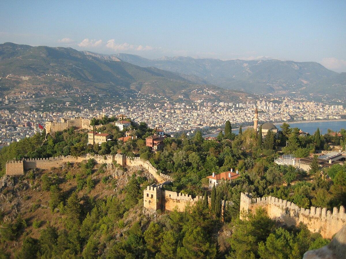 Alanya Castle - Wikipedia