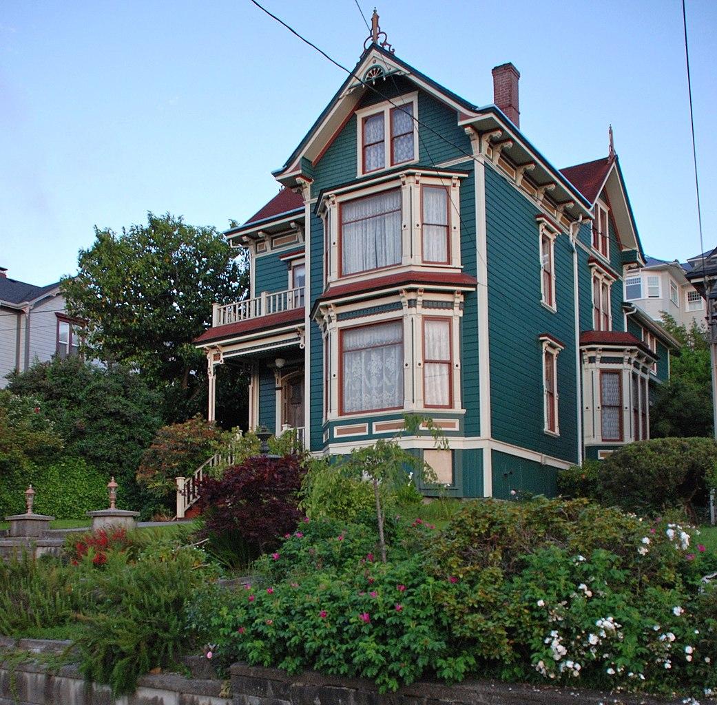 File albert w ferguson house astoria for Building a home in oregon