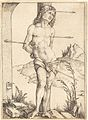 Albrecht Dürer - Saint Sebastian Bound to the Column (NGA 1943.3.3476).jpg