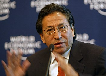 Alejandro Toledo DAVOS2003