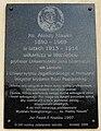 Aleksy Klawek plaque Woniesc.JPG