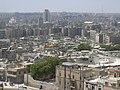 Aleppo (Halab), Blick von der Zitadelle (Qal'at Halab) auf die Stadt, (ayyubidisch von al-Aziz) (38651001606).jpg