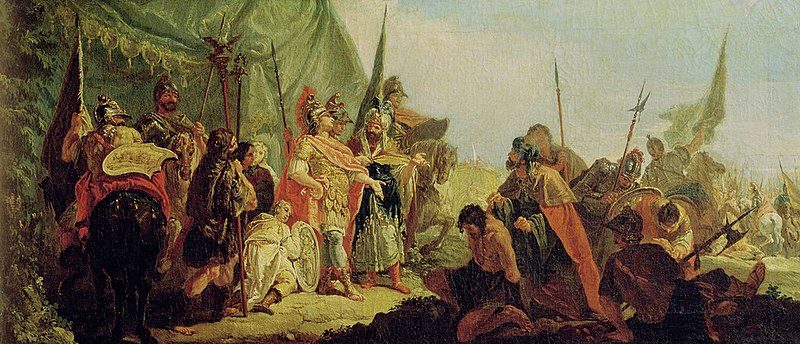 File:Alexander the Great (356-23 BC) and Porus (oil on canvas).jpg