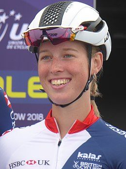 Alice Barnes - 2018 UEC European Road Cycling Championships (Women's road race).jpg