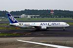 All Nippon Airways Boeing 767-381-ER(BCF) (JA8356-25136-379) (19944196354).jpg