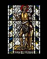 All Saints' Church, Cambridge - Judas Maccabeus stained glass.jpg