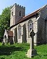 All Saints Church, Brandon Parva, Norfolk - geograph.org.uk - 807702.jpg