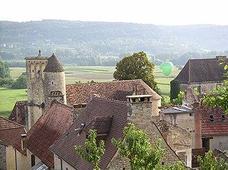 Allas-les-Mines - The village of Allas-les-Mines