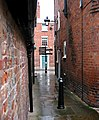 Alley near Dogpole House - geograph.org.uk - 928404.jpg