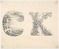 Alphabet Book Design (Letters C and K) MET DP833816.jpg