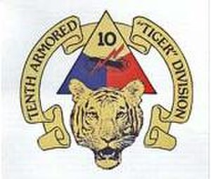 10th Armored Division (United States) - Alternate emblem