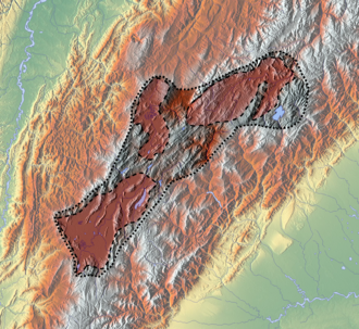 Muisca warfare - The Altiplano Cundiboyacense, deep in the Colombian Andes, was the region where the Muisca established a loose confederation composed of small settlements. Their total population is estimated between 300,000 and two million people