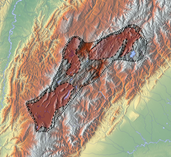 List of Muisca and pre-Muisca sites is located in the Altiplano Cundiboyacense