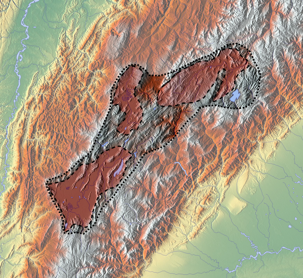 Altiplano Cundiboyacense (subdivisions)