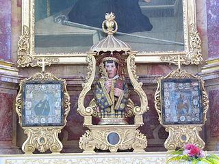 buste-reliquaire de Saint-Cyriaque