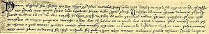 Elizabeth the Cuman - Image: Alzbeta Kum listina
