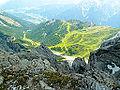 Am Gipfel der Schlicker Seespitze - Blick Richtung Südost.jpg