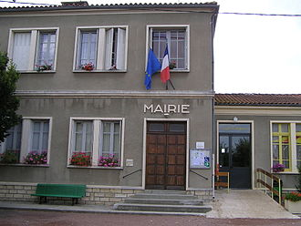 Ambérac - The Town Hall