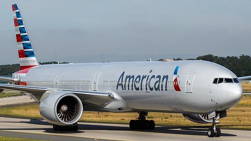 File:American Airlines Boeing 777-300ER (N719AN) at Frankfurt Airport.jpg