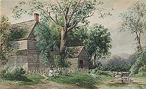Agnes Dean Abbatt - American Hillside Landscape