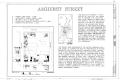 Amherst Street, Winchester, Winchester, VA HABS VA,35-WIN,6- (sheet 1 of 6).png