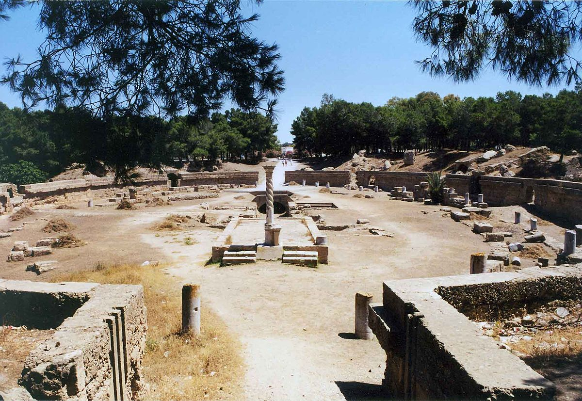 the history of the city of carthage Carthage definition, an ancient city-state in n africa, near modern tunis: founded by the phoenicians in the middle of the 9th century bc destroyed in 146 bc in.