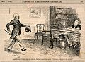 An aggressive colonel barging his way into a doctor's consul Wellcome V0011529.jpg