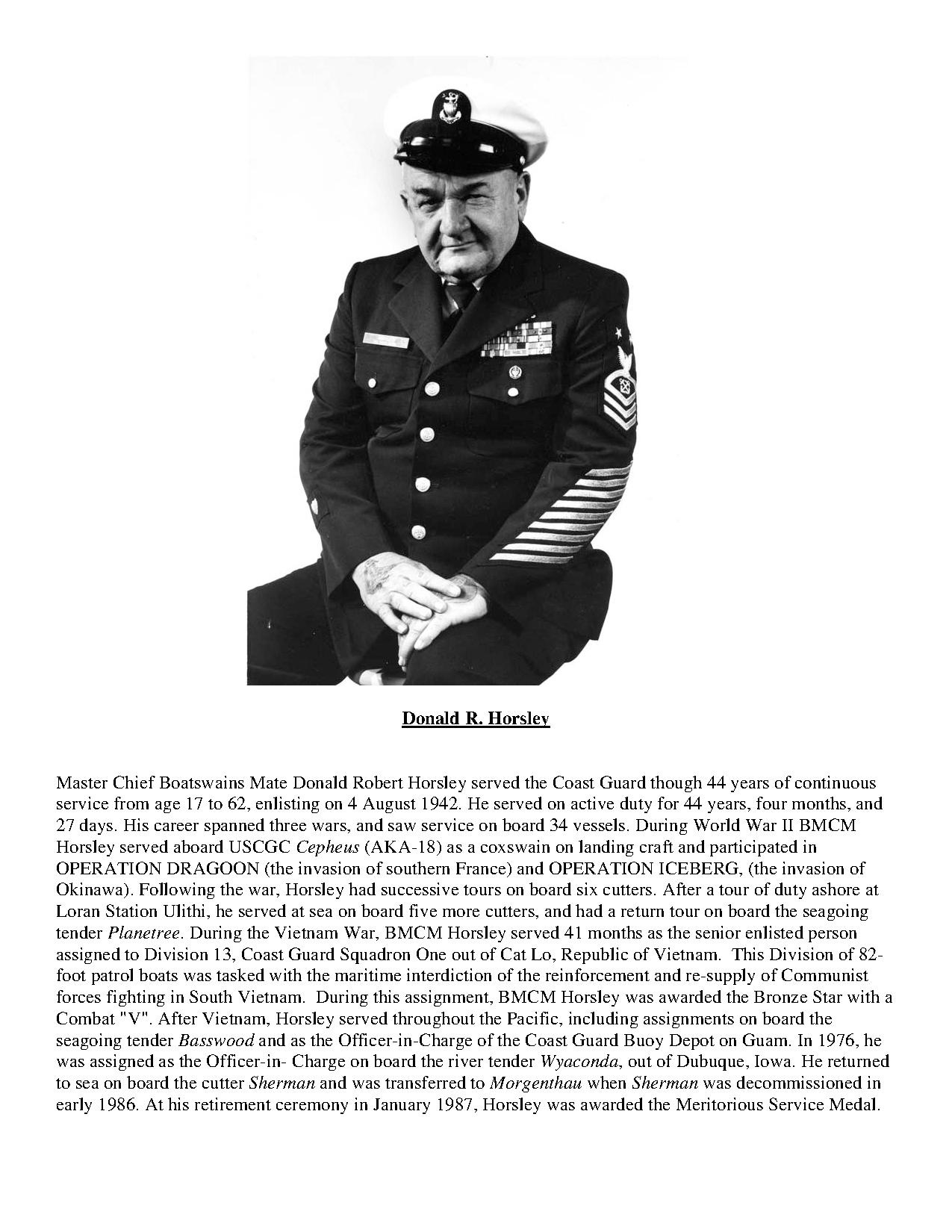 file an official uscg bio of donald horsley pdf wikimedia commons