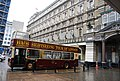An open topped bus in front of Charing Cross Station - geograph.org.uk - 1022706.jpg