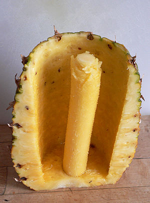 Pineapple cutter - Image: Ananasschneider 4 fcm
