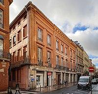 Ancien hôtel de Bonfontan - 41 rue Croix-Baragnon Toulouse - MériméePA00094534.jpg
