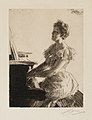 Anders Zorn - At the Piano (etching) 1900.jpg