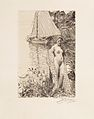 Anders Zorn - My Model and My Boat (etching) 1894.jpg