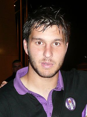 André-Pierre Gignac - Gignac in Toulouse colours, October 2008