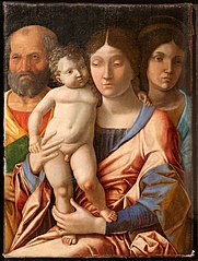 The Holy Family and Mary Magdalene