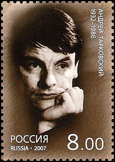 Andrei Tarkovsky Russian filmmaker