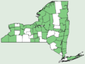 Anemone canadensis NY-dist-map.png