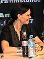 Anette Olzon do Nightwish em sessão de autógrafos-1.jpg