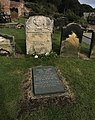 Anne Bronte grave in Scarbrough.jpg